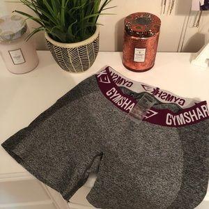 Gymshark spandex shorts